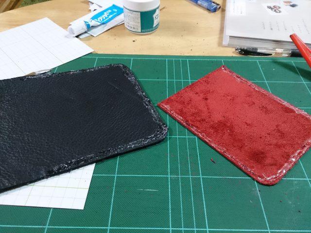 タブレットケース作成の工程