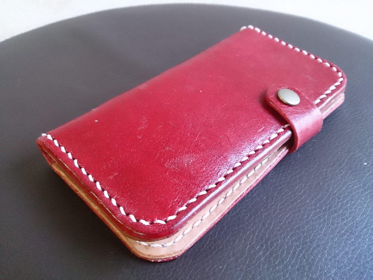 革製iPhoneケース