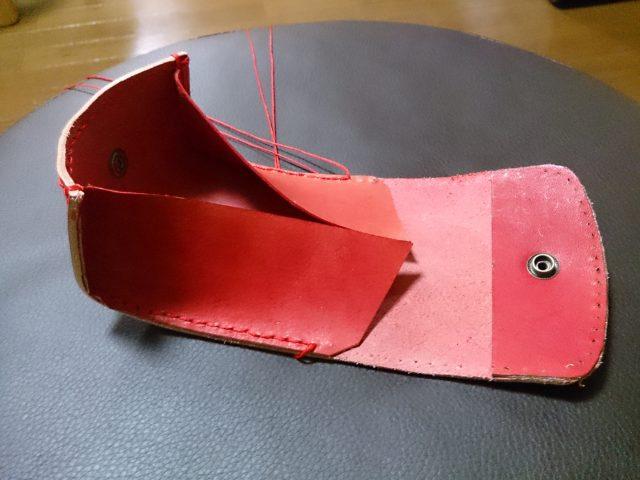 縫製の過程