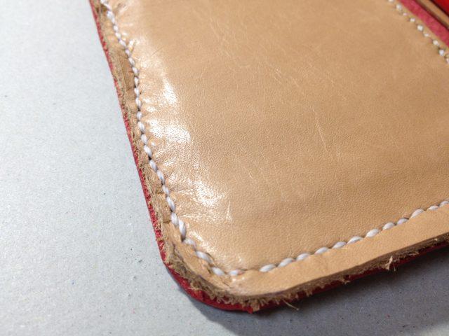 ガタガタの縫い付け