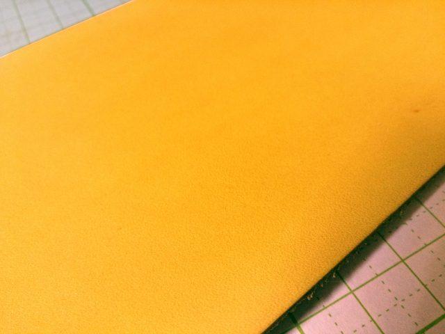 クラフト染料で黄金色に染色