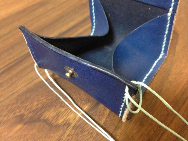 マチを貼り付けながら縫う方法