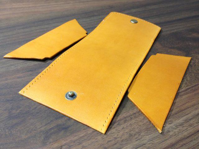 ボックス型コインケース用の革