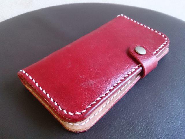 以前に作ったiPhoneケース