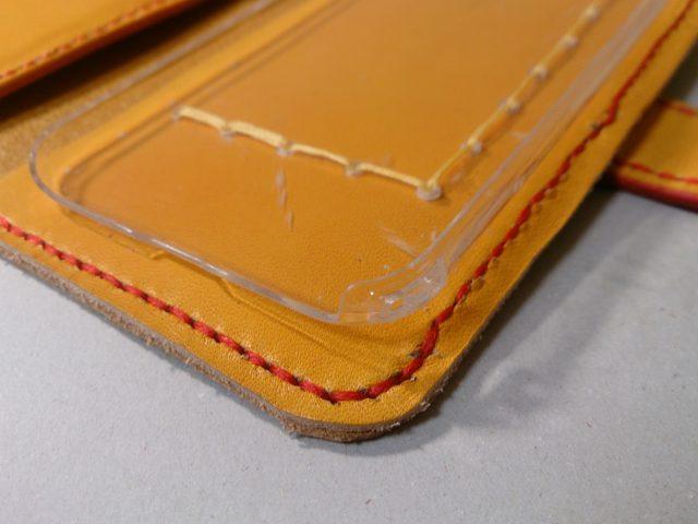 レザークラフトの縫い