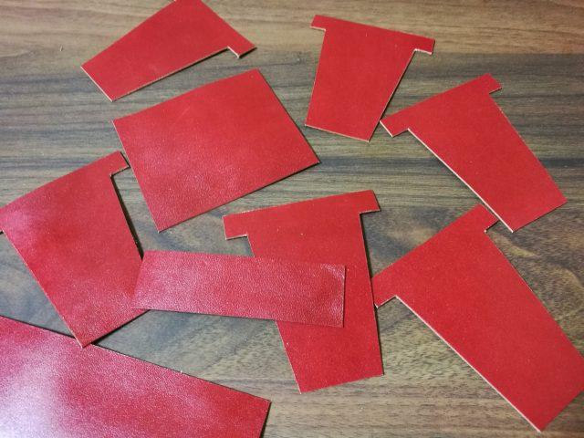 カードケース部分の部品