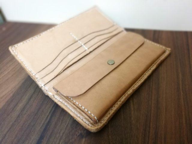 手作り革財布