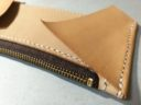 ラウンドファスナー型長財布の内装