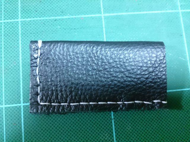 革製手作りライターケースの写真