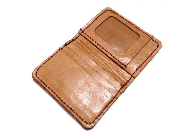 ハンドメードパスケース付きカードケース