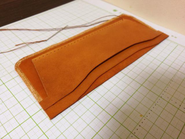 中段の縫い合わせ
