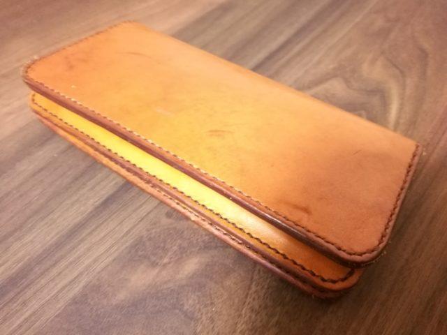 自作財布を閉じた状態