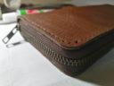ラウンド型長財布の外装