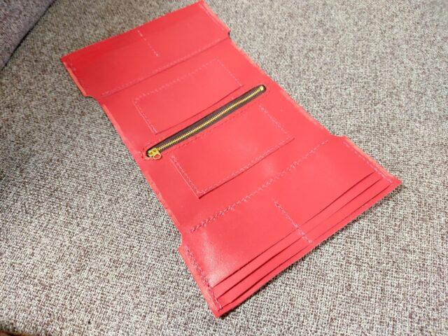 財布のカードケースとコインケース