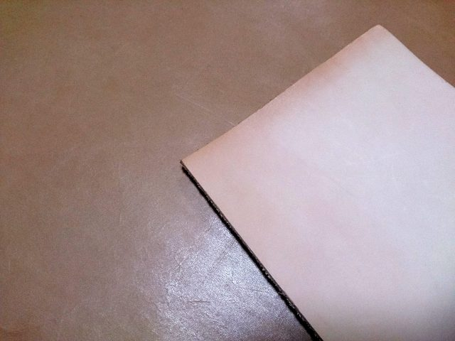 レザークラフトで使うヌメ革