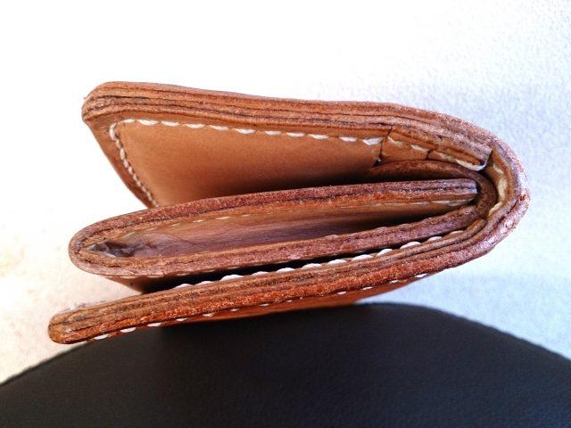 手作り革財布のコバ