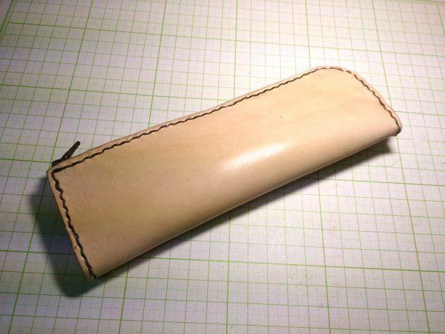 ダウンロード可能:L字型ペンケースの型紙
